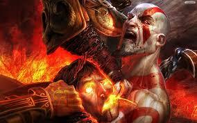 film god of war vs zeus god of war kratos vs zeus wallpaper youwall god of war kratos