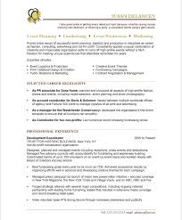 event planning assistant sample resume event planner resume