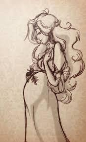 best 25 woman sketch ideas on pinterest drawing women woman