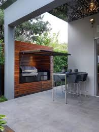 cuisine ete bois cuisine extérieure 6 aménagements pour l été