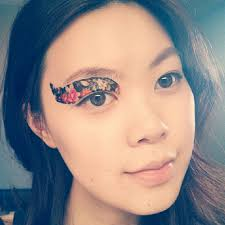 temporary tattoos eye makeup review so babble