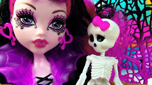 Halloween Monster High Doll Monster High Draculaura Ghouls Rule Wings Costume Doll Movie