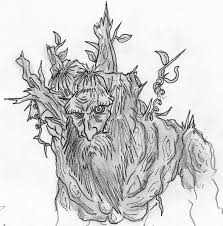 treebeard the ent lotr by fonzu on deviantart