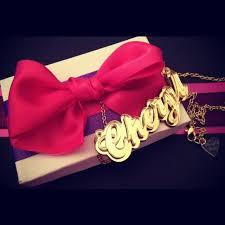 Gold Cursive Name Necklace Cheryl U0027s Dope U2014 Cheryl U0027s Dope Personalized Gold On Gold Cursive