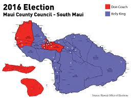 2016 Election Map by Updated We Mapped Three Crucial 2016 Maui County Council
