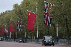 Image Chinese Flag China Eyes British High Speed Rail Contract As Latest In Global