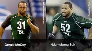 Ndamukong Suh Bench Press 2010 Nfl Draft Prospects Dt U0027s Ndamukong Suh And Gerald Mccoy