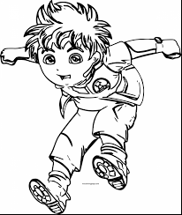 impressive dora coloring pages with diego coloring pages