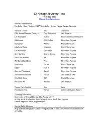 Ucf Resume Resume And Headshot U2013 Christopher Armellino