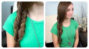faux fishtail braid easy braid hairstyles cute girls hairstyles