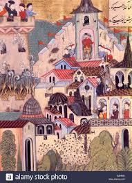 Ottoman Cities Ottoman Miniature Stock Photos Ottoman Miniature Stock Images