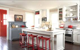 modular cabinets kitchen kitchen with modular cabinets and red accents endear kitchens