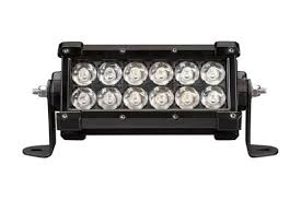 6 inch light bar warn wl series led light bar