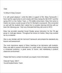 College Letter Of Recommendation From College Admission Recommendation Letter Sle Letter Of