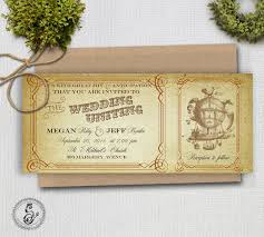 steunk wedding invitations 9 diy steunk craft projects