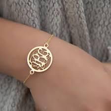 monogram bracelets best custom monogram bracelet products on wanelo