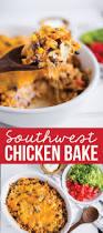 Chicken Main Dish - southwest chicken bake