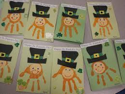 easy crafts for kids hand print leprechaun itsysparks