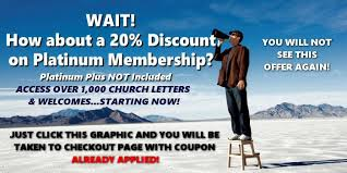 free church letters and church welcomes u2022 churchletters org
