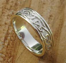 mens rings uk scottish celtic gold wedding ring love2have in the uk