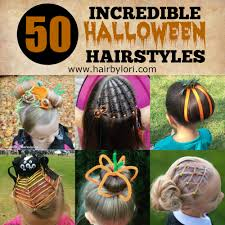 simple hairstyles with one elastic 50 incredible halloween hairstyles hair by lori