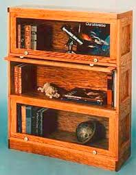 stackable barrister bookcase plans diy free download mudroom