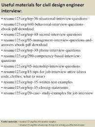 Resume Templates For Engineers Top 8 Civil Design Engineer Resume Samples