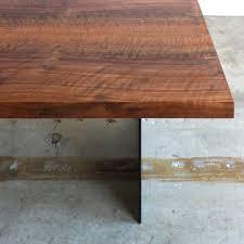 chadhaus chadhaus handmade modern solid wood and steel ferro