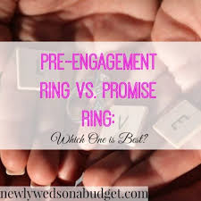 promise ring vs engagement ring pre engagement ring vs promise ring which one is best newlyweds