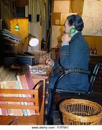 War Cabinet Ww2 London England World War Two Wwii Telephone Communications Stock