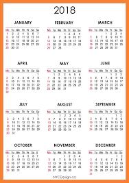 free printable 2018 desk calendar printable calendar 2018 images