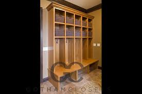 custom made closets entry foyer closets gotham closets