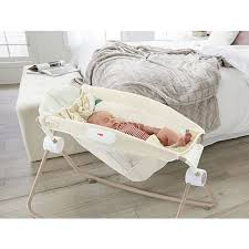 Baby Sleeper In Bed Fisher Price Deluxe Newborn Rock U0027n Play Sleeper Soothing