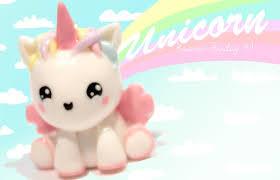u203f unicorn kawaii friday 81 tutorial in polymer clay youtube