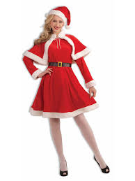 santa costumes classic miss santa costume christmas womens costumes