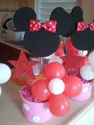 Centerpieces For Minnie Mouse Party by 114 Best Birthday Party Minnie Mickey Mouse Clubhouse Images On