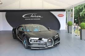 bugatti chiron engine goodwood 2016 black bugatti chiron gtspirit