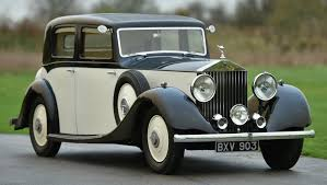 roll royce rolls 1935 roll royce 20 25 hooper sports saloon vintage u0026 prestige