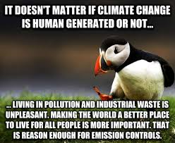 Climate Change Meme - my unpopular opinion puffin on climate change meme guy