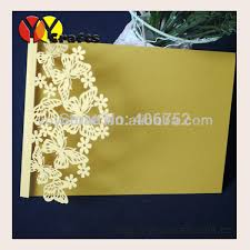inc29 butterfly design gold birthday invitation cards wedding