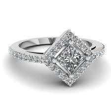 princess cut white gold engagement rings princess cut engagement ring in 14k white gold