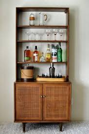 Flip Top Bar Cabinet Portos Bar Unit In Canaletto U2013 Designed By Andrea Lucatello For