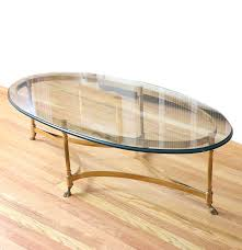 vintage labarge brass hollywood regency coffee table ebth