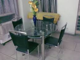 Glass Dining Table Price In Hyderabad  Gallery Dining - Glass top dining table hyderabad