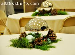 Gold Christmas Centerpieces - christmas table centerpiece ideas roselawnlutheran