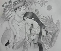 krishna radha drawings fine art america