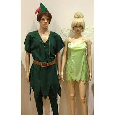 Tinkerbell Peter Pan Halloween Costumes Peter Pan Tinker Bell Hire Costume