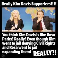 Rosa Parks Meme - no kim davis is not like rosa parks
