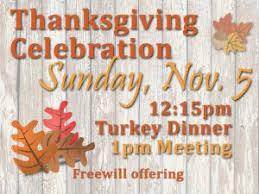 thanksgiving celebration cedar