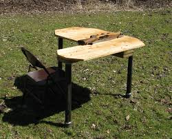 Plans For A Shooting Bench Home Made Shooting Bench Many Photos